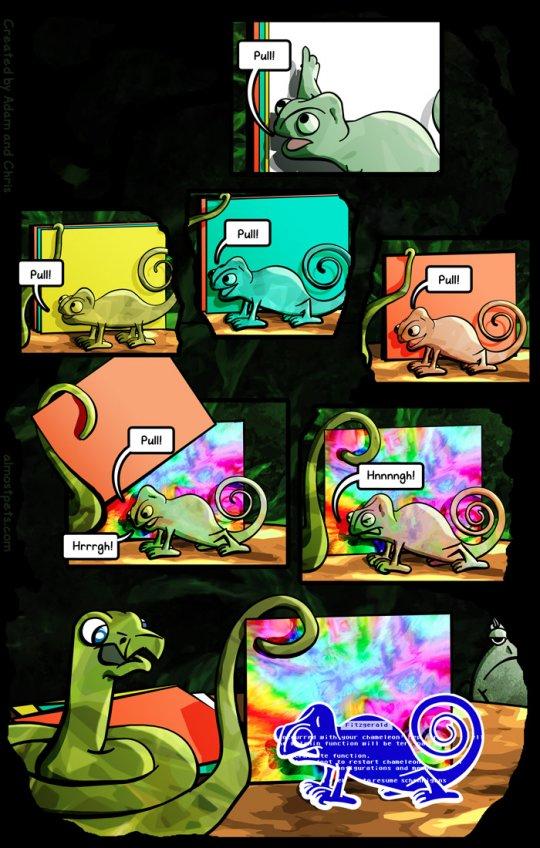 The Chameleon fail