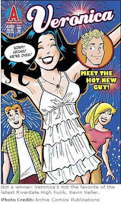 The debut of openly gay character Kevin Keller