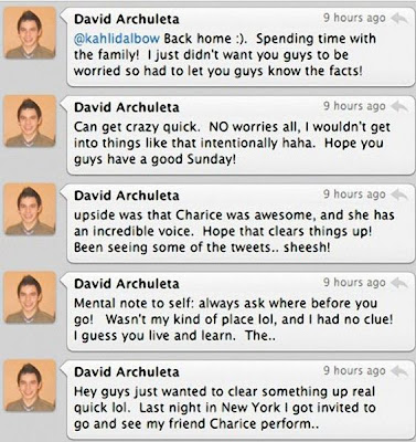 Don't Panic, David Archuleta Is Not Gay
