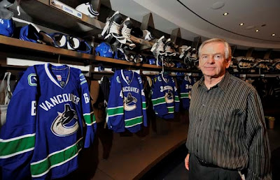 Canuck's President and GM Haervey Jones