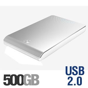 Seagate FreeAgent Go ST905003FGA2E1–RK 500GB External Hard Drive