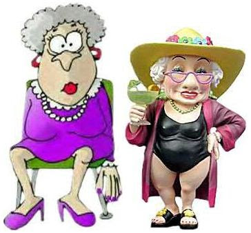 2 old ladies!