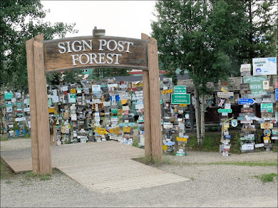 Sign Post Forest - Watson Lake Yukon, Canada