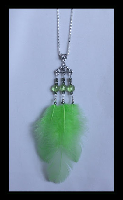 Green Pendant on Chain