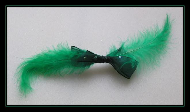 Green Hair-clip II