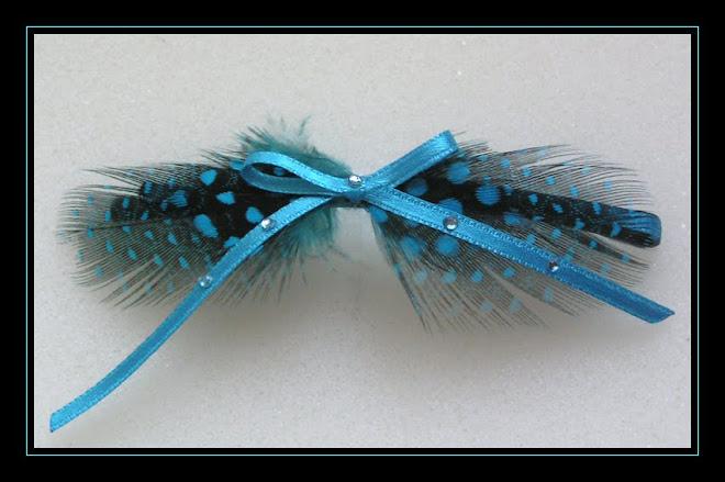 Blue Hair-clip I
