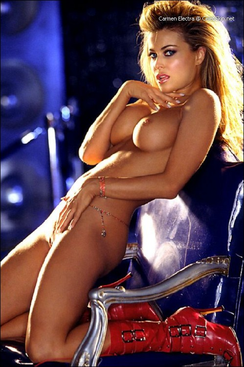 Carmen Electra nude picture galleries -
