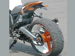 MODIFICATION NEW HONDA TIGER 2000