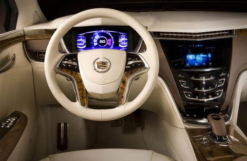 2010 Cadillac XTS Platinum Concept interior
