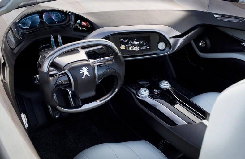 2010 Peugeot SR1 Concept interior