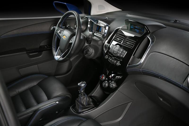 2010 Chevrolet Aveo RS Concept  interior