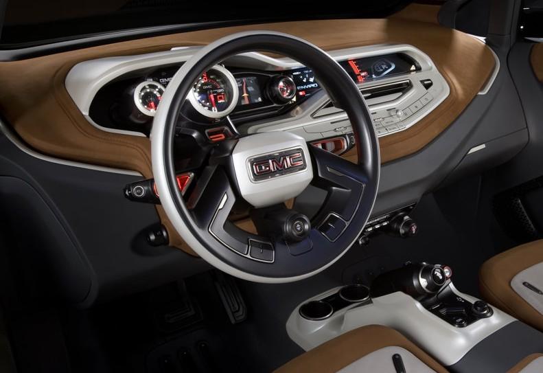 2010 GMC Granite Concept interior