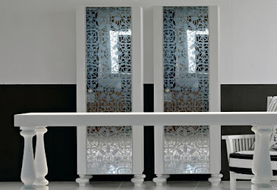 Silk Screen Mirror Furniture modern design