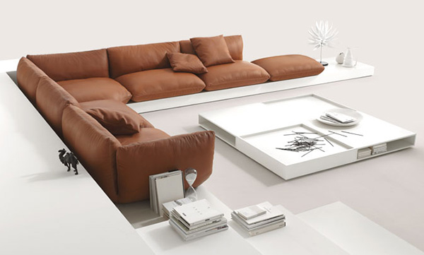 Design Oriental Style Jalis Soft Sofas
