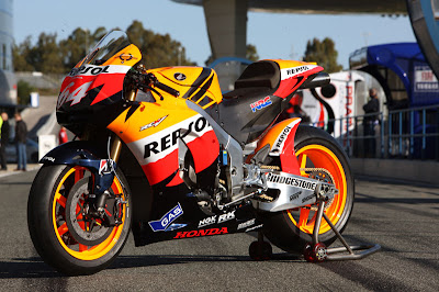 Honda RC212V New Model Motorcycle