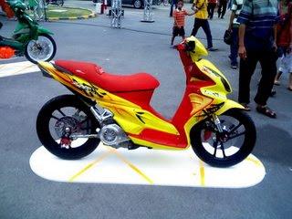 Gambar Modifikasi Motor Matic Yamaha