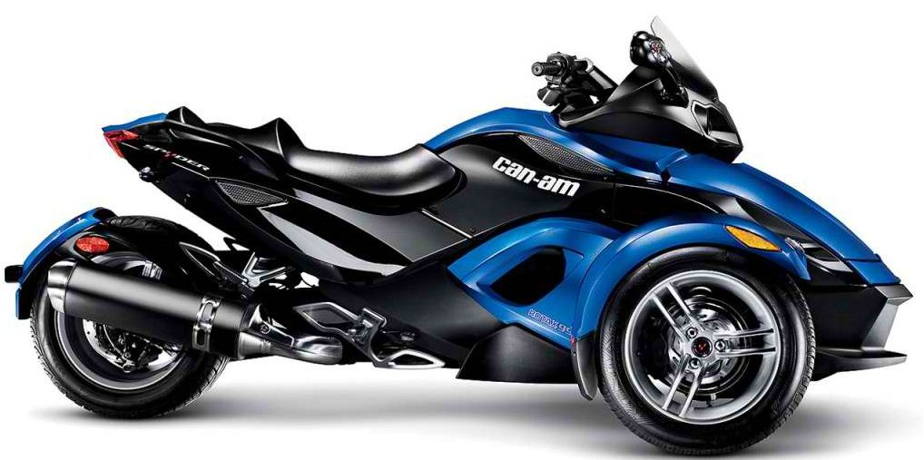 2010 new can am spyder roadster rs s bike motorcycle for Can am spyder motor