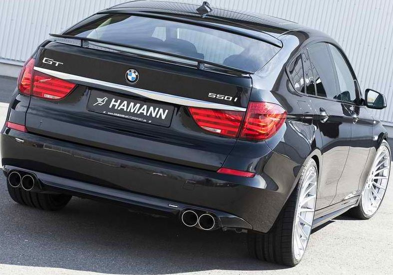 Bmw 5 Series 2010 Gt. HAMANN BMW 5-SERIES GT.