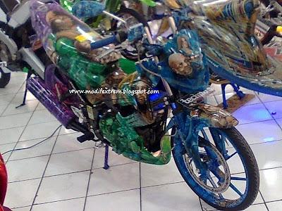 Modifikasi Suzuki Satria