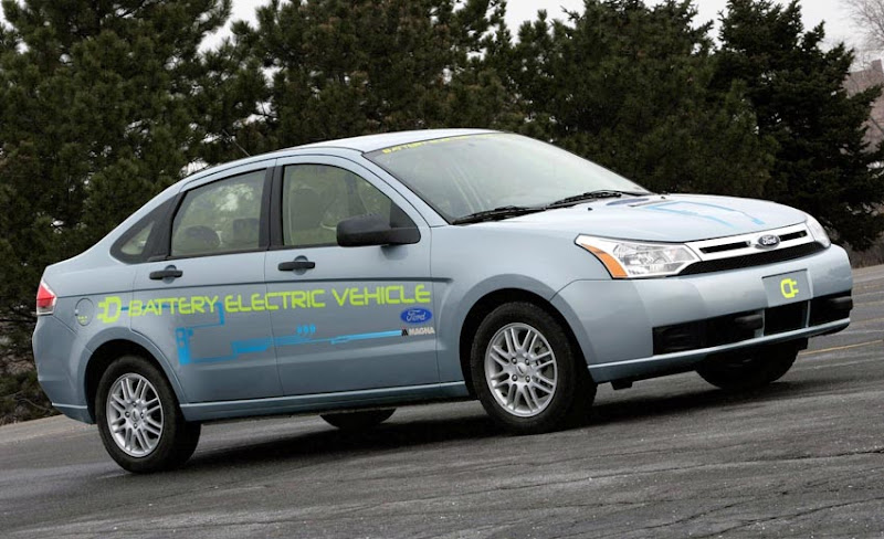 2012 Ford Focus EV Prototype Electric