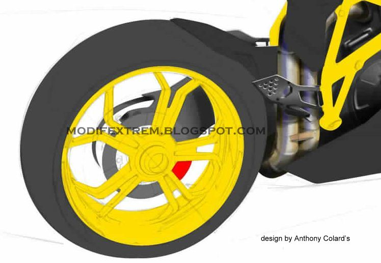 NEW DUCATI C12-R SUPERBIKE CONCEPT | New Motorcycle Modification Pictures