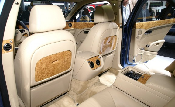 NEW BENTLEY MULSANNE INTERIOR