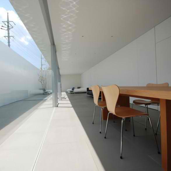 Design minimalist japanese house home design for Minimalist house okinawa japan