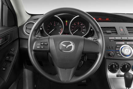 2010 New Mazda 3 S Grand Four-Door Interior