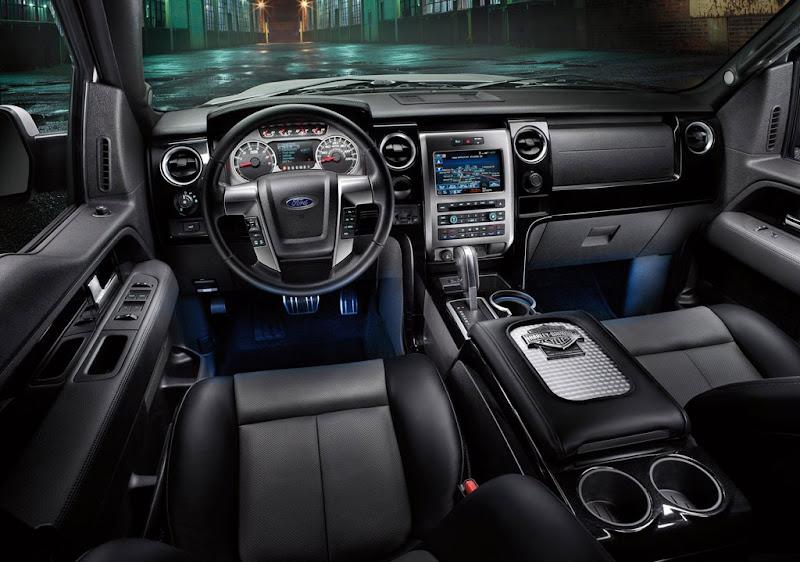 2011 Ford F-150 Type Harley-Davidson Interior