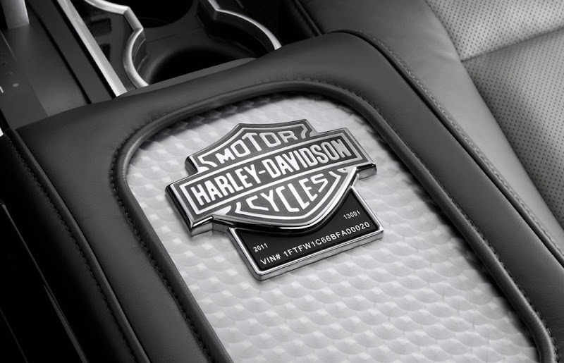 2011 Ford F-150 Type Harley-Davidson Logo