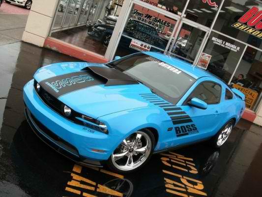 2010 Team Shinoda Boss Mustang