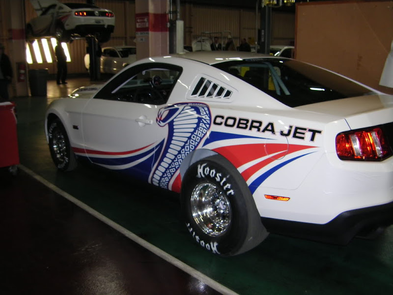 2010 Ford Racing Cobra Jet Mustangs