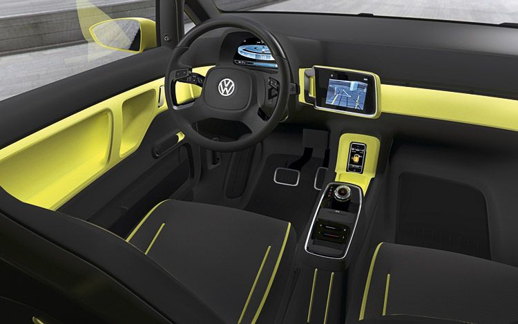 2012 Volkswagen E-Up Concept