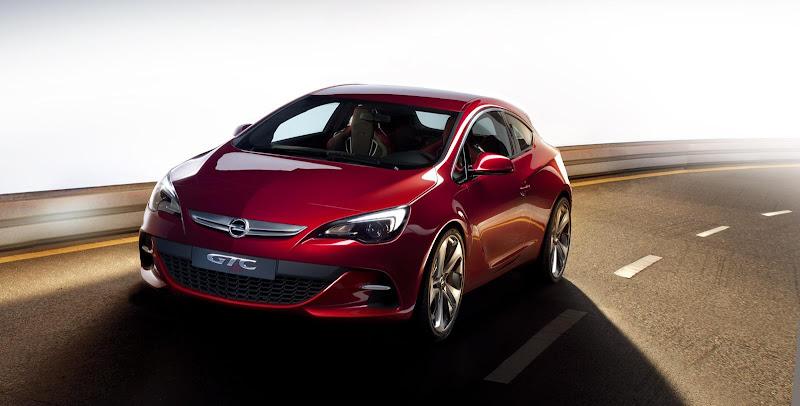2010 Opel GTC Paris Concept Preview