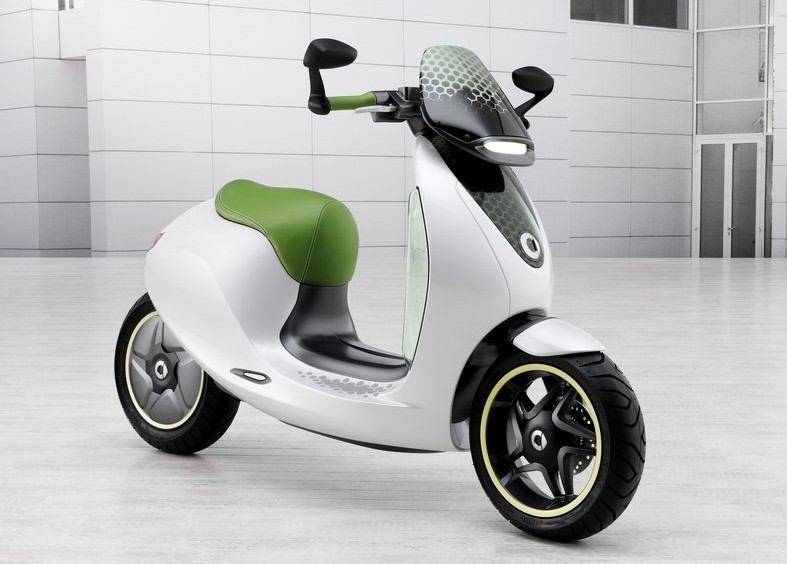 2010 Smart E-Scooter Concept Electric