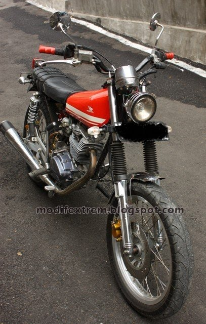 Modifikasi Honda CB 1980