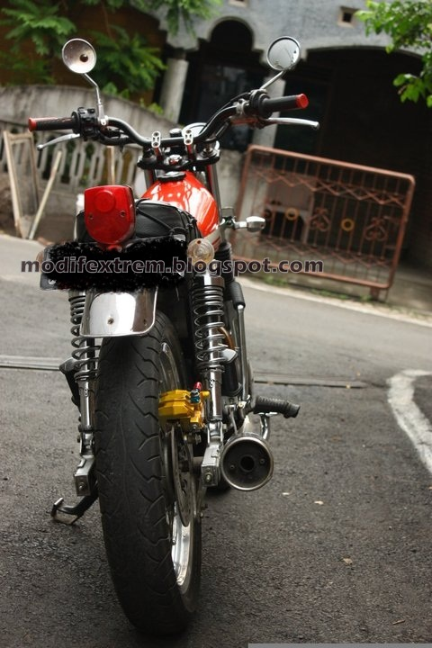 Photo Honda Cb Modifikasi