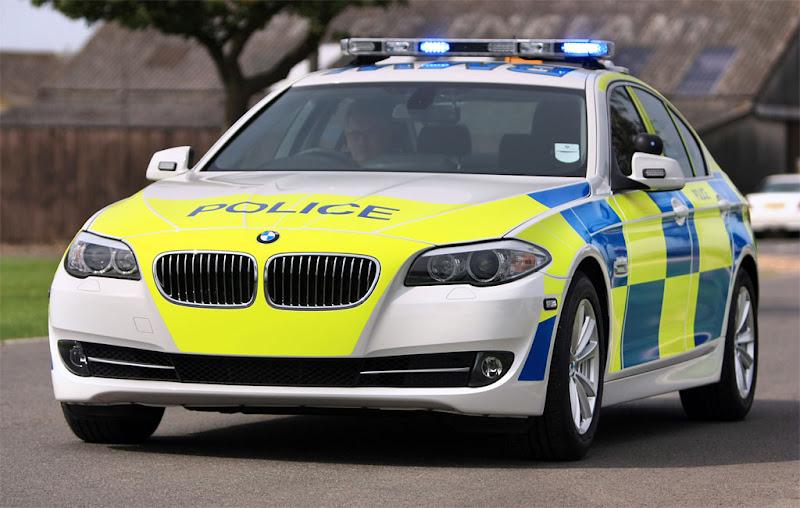 2011 BMW 5 Police Edition