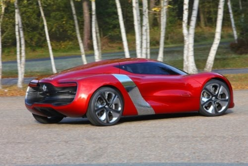 Renault Dezir Concept Sport Car