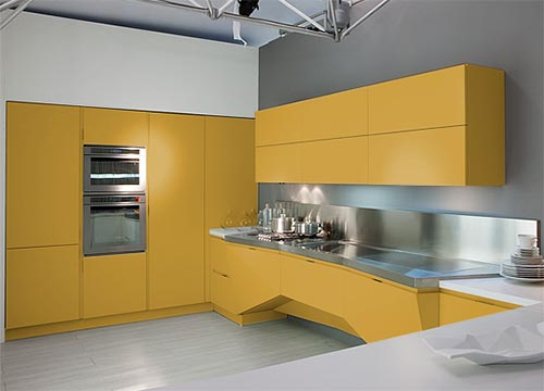 Kitchen Design Futuristic by Italian Company