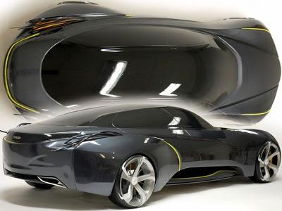 Saab Concept Sports Sedan By Youngho Jong