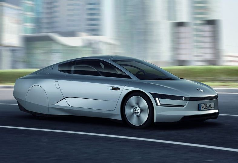 Volkswagen Xl1 Diesel Hybrid Concept All About Super