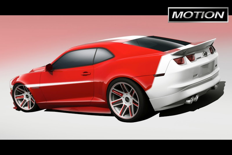 2011 New Motion Camaro
