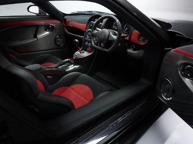 Noble M600 Supercar interior