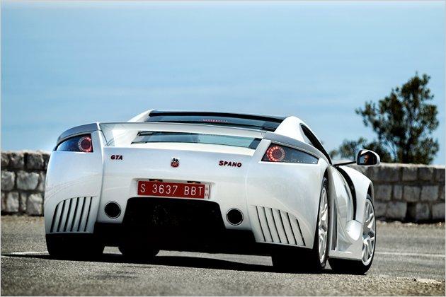 2011 Lamborghini Spano GTA