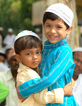 मुकद्दस पाक त्योहार ईद पर दिली मुबारकबाद