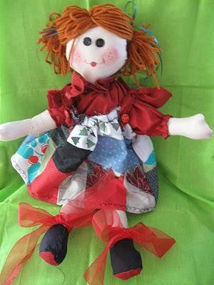 Cloth Rag Dolls Patterns Made Of