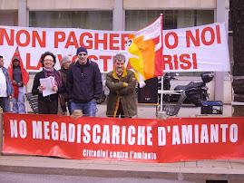 Il presidio sotto il Pirellone - 24 marzo 2009