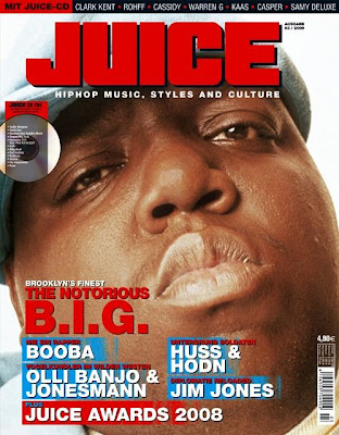 The Notorious BIG Juice Magazine