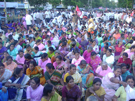 A Demonstration by Pricol Workers